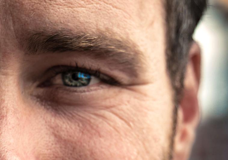глаза перекисью водорода