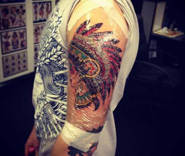 Как ухаживать за татуировкой
